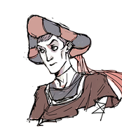 Young Frollo [sketch] by iinchiostro