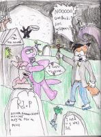 the terrors of the graveyard. by Luke-the-F0x