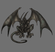 gargoyle by Lordstevie