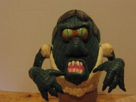 Alligator People Potatohead Closeup by Potatoheadmaster