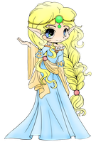 Scottish Elf Princess (Coloured) by Bunri