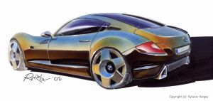 BMW Z concept by Rykunov