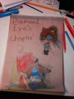 Diamond Eyes chapter 2 cover by emerswell