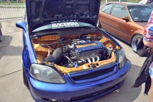 RACEISM Event 2014 - Honda's Engine by 2micc