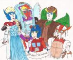 Transformers Halloween by kiinastar