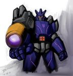 GALVATRON In TRANSFORMERS WFC by zew00r