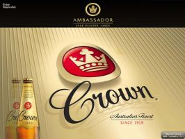 Crown lager Its GOLD by comwhizz101
