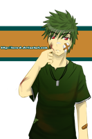 Midori-Guu.... is a bad boy by Kuro-D