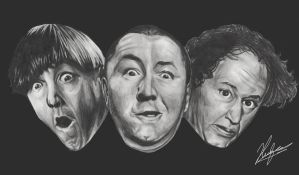 The Three Stooges by neoyurin