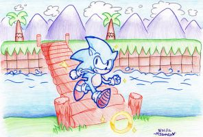 Green Hill Zone by lucas420