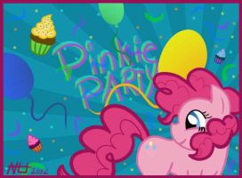 MLP - Pinkie Party by Cookye306