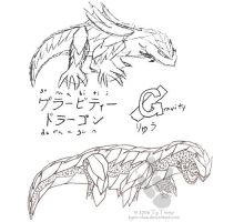 Gravity Dragon Concept by TyRivin