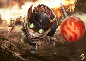 Candy Burglar Ziggs (Repainted) by Shev14th