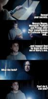 Marauders' Map insults Snape by AnnikaClarisse