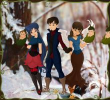 Gift-The Allen Family of Pixie Hollow by Supremechaos918