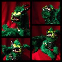 Jade Gargoyle close ups!!! by darkangellord69