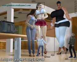 Giantess Erodreasm2 - Preview - ADATAH 01 by ilayhu2