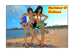 Marimar and Daliana by AndreaGodoy