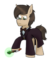 The Eleventh Doctor Pony (remake) by Trot-Baker