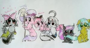 KITTEHS!!!*squee* by FlutterSquee6
