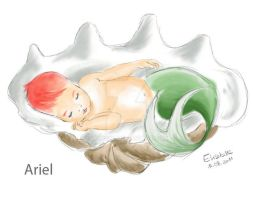 NewBorn Princess Ariel by Lumisya