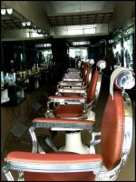 Old Barber's Shop by anadesousa