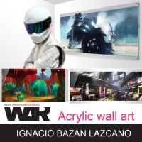 Acrylic wall art available by neisbeis