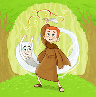 The Secret of Kells-Our Forest by Abi-R