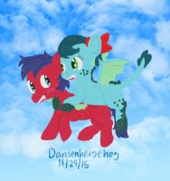 Learning to Fly by Dansenhedgehog