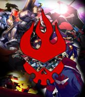 Gurren Lagann Poster Thingy by Raxy-werecat