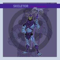 Skeletor by thejason10