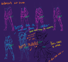 Character/Adopt Concept WIP Dump by NotDamien