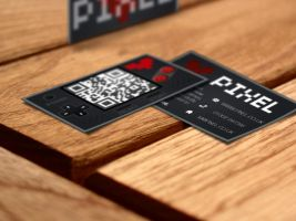 business cards by Mahrib