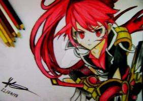 Elesis - Grand Chase by KellyCunha