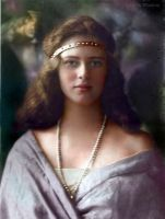Princess Ileana of Romania. Early 1920s by klimbims