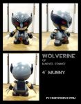 wolverine custom munny (uncanny x-force costume) by FlyingSciurus