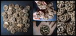 Recovered Innsmouth Gold - Marsh Coins by mortonskull