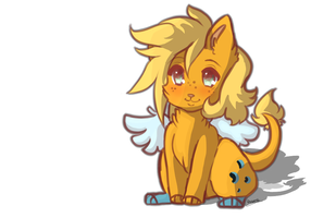 My little angel by Axunna