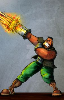 Barret Final by inkycharland