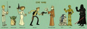 Star Wars by tyrannus