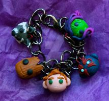 Guardians of the Galaxy Bracelet by KatKatDreamer95