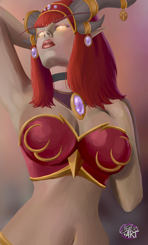 Alexstrasza by Ellise93