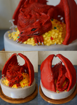Smaug Cake by whisk-us-away