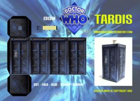 TARDIS Model by mikedaws