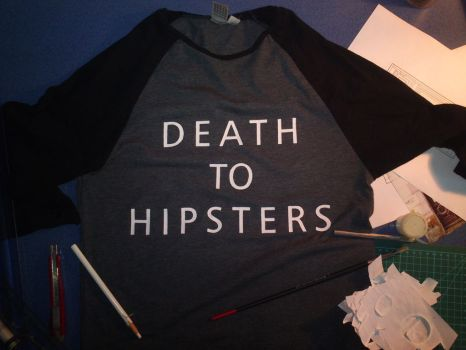 DEATH TO HIPSTERS by Tombstone138