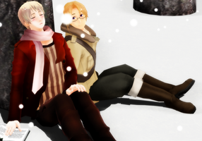 In the Snow by Otonashi-girl-08