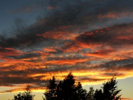 Sky on fire I by Smile-Denise