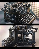 Typewriter by AleksCG