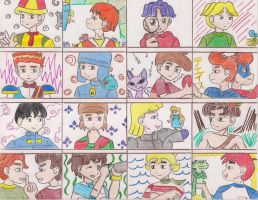 Cartoon Boys 4th Part by ieshika