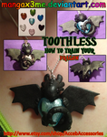 HTTYD Toothless necklace by MangaX3me